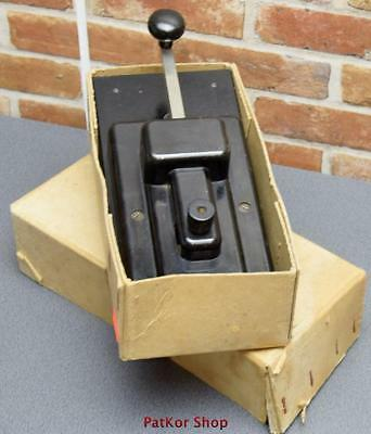 VINTAGE - telegraph KEY GREAT NORTHERN +original box/A 0390
