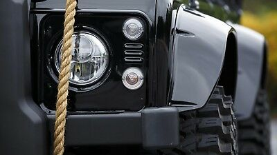 Spectre Wheel Arch Kit -Land Rover Defender Wheel Arch Kit 90,110,130-Black