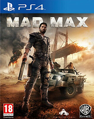 Warner Bros Mad Max, PS4 Basic PlayStation 4 ITA videogioco Mad Max, PS4
