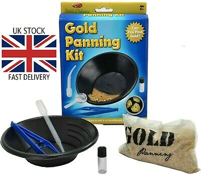 Kids Gold Panning Kit 🇬🇧  FREE Fast Day Delivery 🇬🇧
