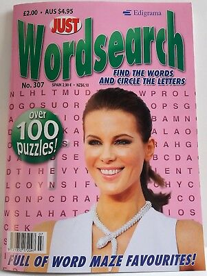 Wordsearch Just Wordsearch Puzzle Book Issue No. 307 P&p Incl. New