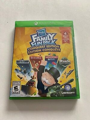 Hasbro Family Fun Pack Conquest Edition (Microsoft Xbox One) New, Factory Sealed