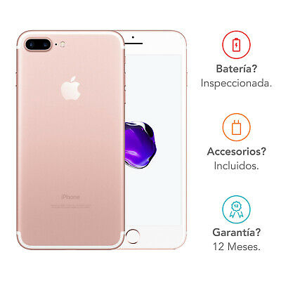 Apple iPhone 7 Plus / 128GB / Oro Rosa / Libre
