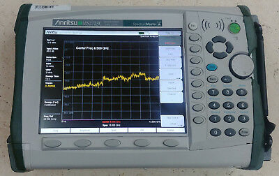 Anritsu MS2723C 13GHz, Opts 9/541/542/543