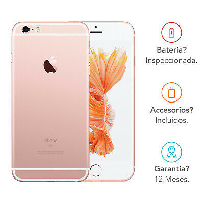 Apple iPhone 6s / 16GB / Oro Rosa / Libre