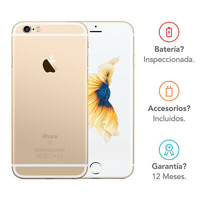 Apple iPhone 6s / 64GB / Oro / Libre
