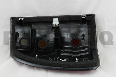 8155160560 Genuine Toyota LENS & BODY, REAR COMBINATION LAMP, RH 81551-60560