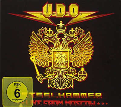 U.d.o.-Steelhammer - Live From Moscow (Dvd+2Cd) Cd Nuevo