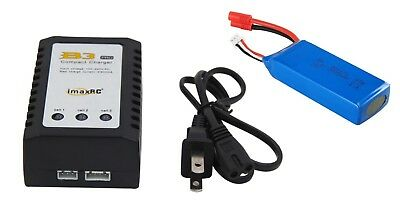 for Promark VR, Promark Warrior CW P70 Drones USB Battery+Charger Set