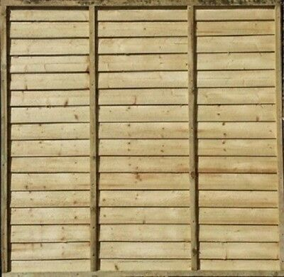 Overlap Fence Panels - FREE DELIVERY WITHIN M25 FOR ORDERS OVER £150