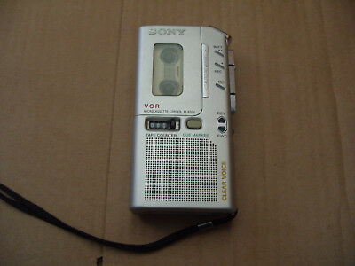 Sony M-830V Dictaphone Voice Handheld Recorder EVP GHOST HUNTING Rare