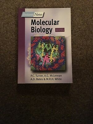 instant notes in molecular biology white michael turner phil mclennan alex ander bates andy