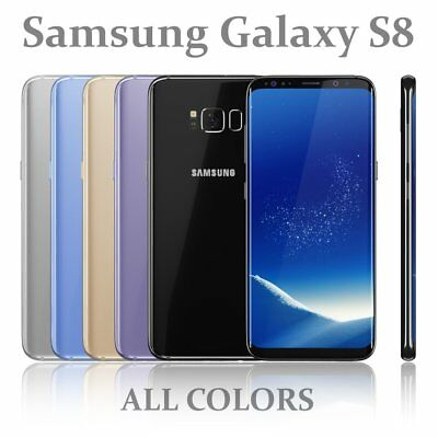 Samsung Galaxy S8 64GB Android Mobile Phone Unlocked 4G LTE Grade A Plus