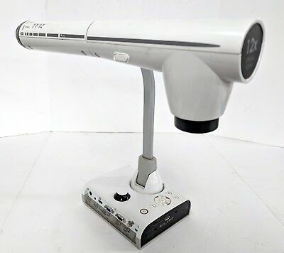 Elmo TT-12 Interactive Document Camera 3.4MP 12x Optical Zoom 1080p HDMI Tested