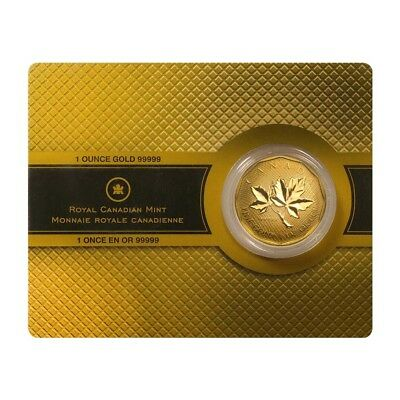 2008 1 oz Canadian Gold Maple Leaf $200 Coin .99999 Fine Gold (In Assay Card)