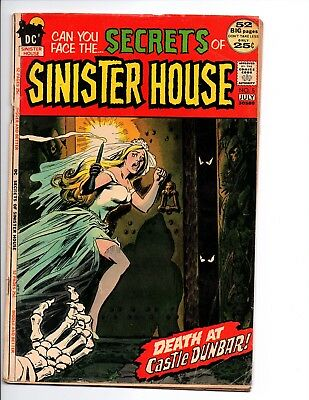 Secrets of Sinister House 5 (DC 1972) VG