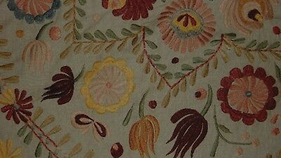 Pottery Barn Knowles Embroidered Pillow Cover 24 Square