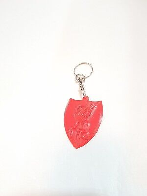 Liverpool FC Inspired Plastic Keyring The Reds Football Club Gift Replica