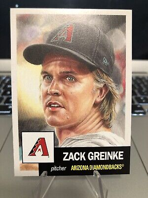 2018 Topps Living Set #139 Zack Greinke FREE SHIPPING PR: 3094 *CARDS IN HAND*