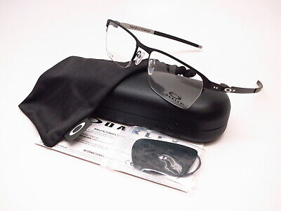 ef281f576b Authentic Oakley Tincup 0.5 TI OX5099-0153 Powder Coal Rx-able Eyeglasses  53mm