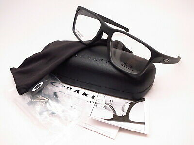 1c0ff010a1 New Authentic Oakley Litebeam OX8140-0155 Satin Black Rx-able Eyeglasses  55mm