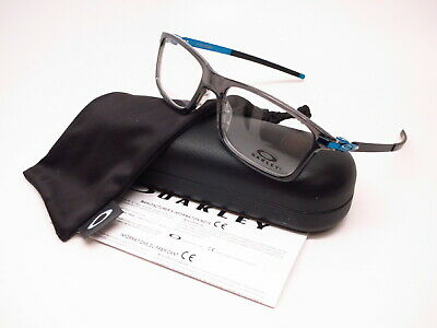 e544fdbc945 New Authentic Oakley Pitchman OX8050-1255 Polished Grey Smoke Eyeglasses  55mm