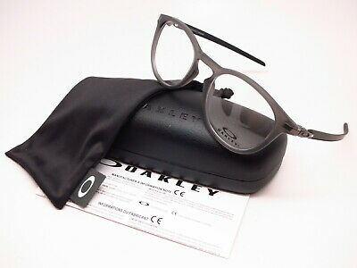 3a29446f8d Authentic Oakley Pitchman R Carbon OX8149-0250 Satin Grey Smoke Eyeglasses  50mm