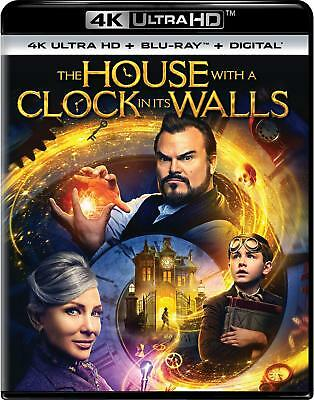 The House with a Clock in Its Walls (4K UHD + Blu Ray + Digital) w/ SLIP COVER
