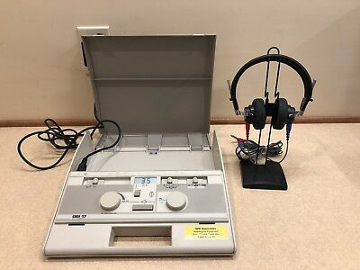 GSI 17 Portable Audiometer with Current Calibration Certificate