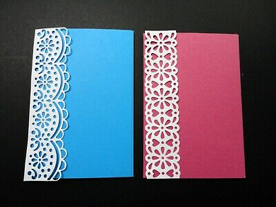 Card Topper Side Panels - Pkt 4