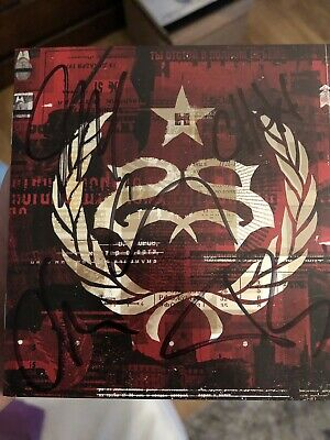 Stone Sour Hydrograd Deluxe 2 Cd signiert signed Autogramm Slipknot