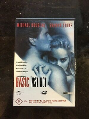 Basic Instinct (DVD, 2004) BRAND NEW CULT THRILLER MYSTERY SHARON STONE