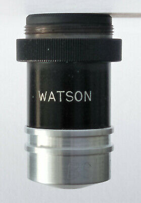 Watson PARA 40x Magnification 4mm  Microscope Objective in Excellent Condition!