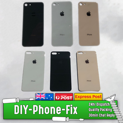 Original Apple iPhone 8 & 8 Plus Rear Glass Back Cover Replacement Logo Adhesive