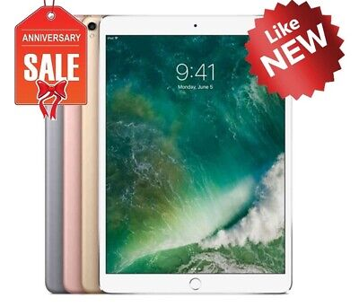 "Apple iPad Pro 10.5"" Wifi or Cellular, Gray Silver Gold Rose - 64GB 256GB 512GB"
