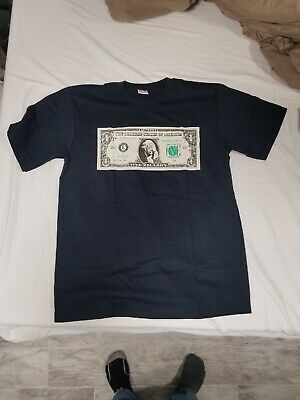 9937d2ae880f NEW AUTHENTIC SUPREME Zillion Dollar Bill Tee Hundred Money T-Shirt ...