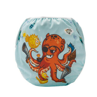 Sea Crusaders Swim Nappy - Baby Cover Reusable Multifit Diaper Pants Swimmers