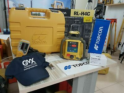 Topcon Model RL-H4C Rotating Laser Level + Calibration 5 years warranty +Disto