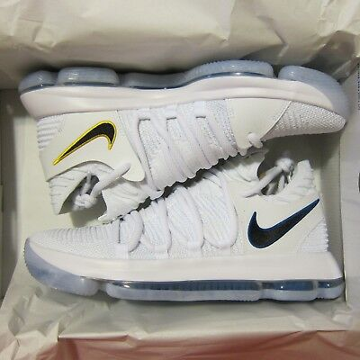 5db91c5120129e NEW Nike KDX Numbers Men s Zoom Basketball Shoes 9.5 White GSW Warriors  Durant