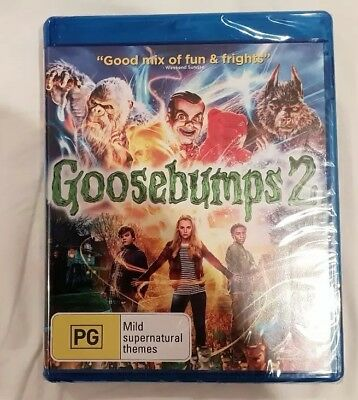 Goosebumps 2 with Digital Download Blu-ray Region B Brand New and Sealed