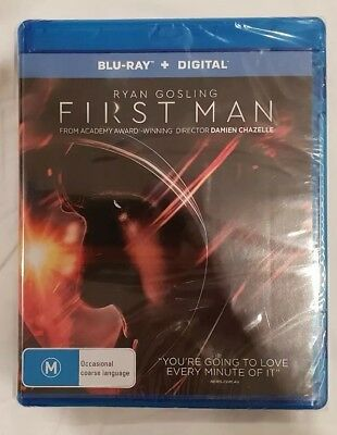 First Man Blu-ray Brand New & Sealed Region B