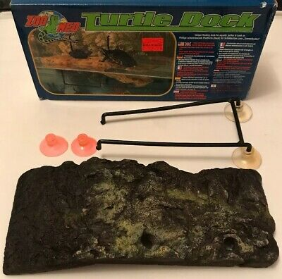 Zoo Med Small Turtle Floating Dock for Aquariums 45 Litres Upwards USED CHEAP!