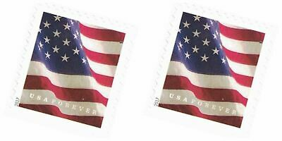 (2) TWO USPS FOREVER STAMPS  postage For 1st Class Mail - NEW - MNH