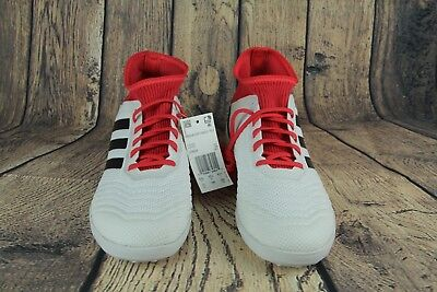 a2976a9323c9 Adidas Predator Tango 18.3 IN Men s Soccer Shoes Indoor White Red CP9929 SZ
