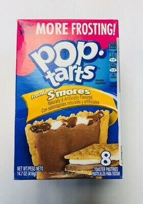 Kelloggs frosted smores pack of 6 dated 10/feb/2019 clearance