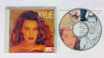 Kylie Minogue Greatest Hits Picture Cd Obi-Strip Alfa Japan Cd