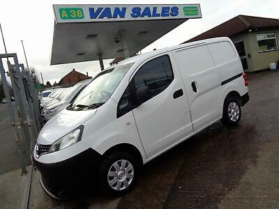 2013 Nissan Nv200 Se 1.5 Dci 89 Bhp 5 Speed Manual Fwd Euro 5 Panel Van