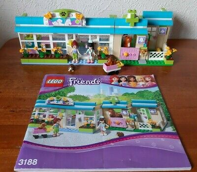 Lego Friends 3188 Heartlake Vets Stable With Instructions 1899