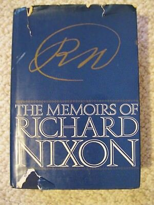 The Memoirs of Richard Nixon Hard Cover Inscribed & Signed 6-10-1979 1st Edition