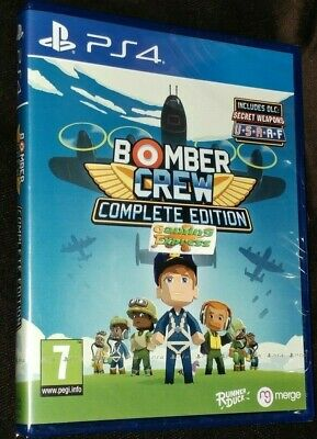 Bomber Crew Complete Edition Playstation 4 PS4 NEW SEALED Free UK p&p UK Pal